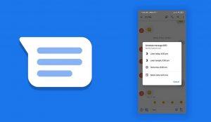 تطبيق رسائل جوجل يتيح لك جدولة رسائلك النصية.. إليك التفاصيل