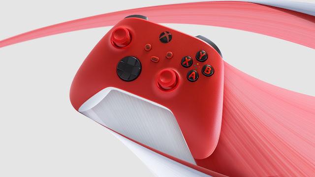الكشف عن وحدة تحكم Xbox Series X الحمراء Pulse Red من Microsoft   عالم الجيمر