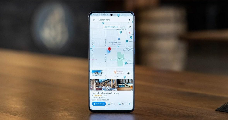 كيفية استخدام ميزة تقسيم الشاشة في تطبيق خرائط جوجل